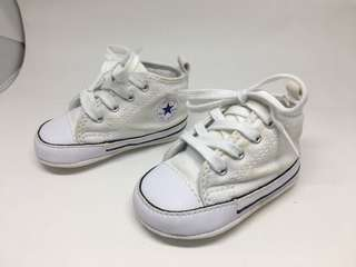 Baby Converse White All Star Sneakers 1yr