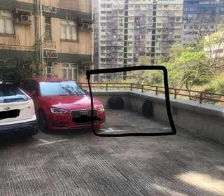 Car park near Fortress hill station