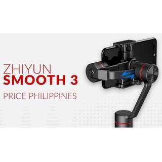Limited offer Zhiyun Smoodth-3 Handheld 3-Axis Gimbal