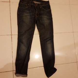 Nudie  Jeans SLIM JIM 100% ori (3-4 times used only)