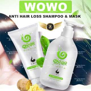 Wowo  Pure Ginger Shampoo & Nutrition Hair Mask
