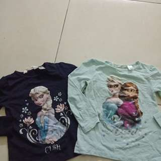 H&M Frozen tshirt
