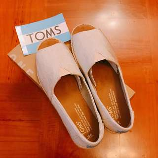 TOMS Open Toes Shoes