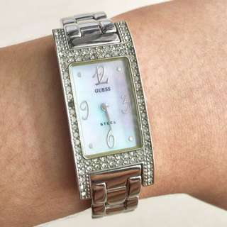 Jam Guess Watch Silver