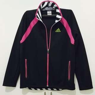 Nike training sports jacket (black and hot pink)