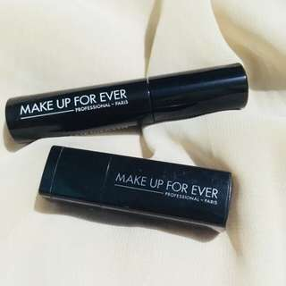 Mini lipstick and mascara