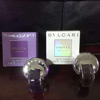 Bvlgari perfume miniature - 3 Colours