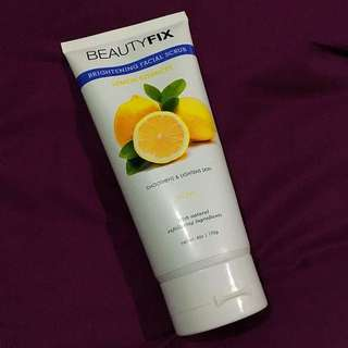 Beauty fix lemon essences facial scrub
