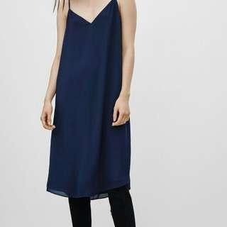 Aritzia Babaton black dress