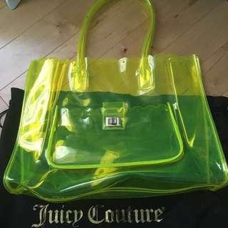 Juicy Couture Clear Beach Tote