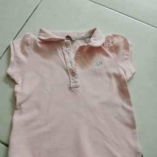 Poney collar tshirt