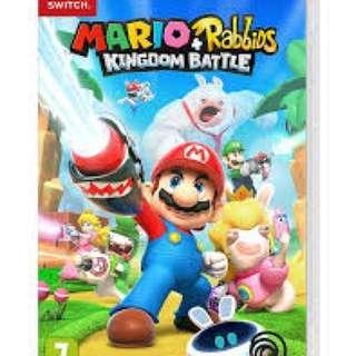 Mario rabbits