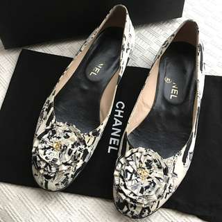 Chanel ballerina shoes    **Made in Italy  @Size 37-1/2
