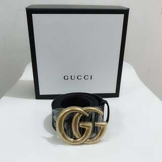 🆕Authentic GUCCI Signature GG Logo Belt