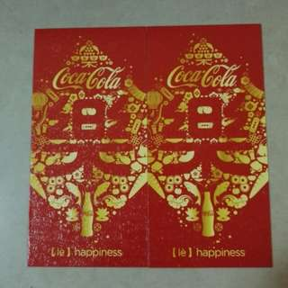 Coca-Cola Ang Pow Packets
