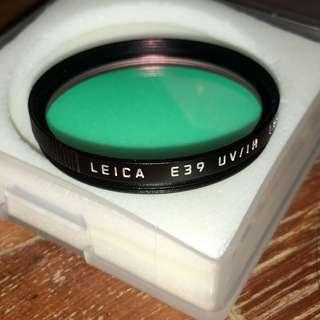 Leica E39 UV/IR 13410 filter