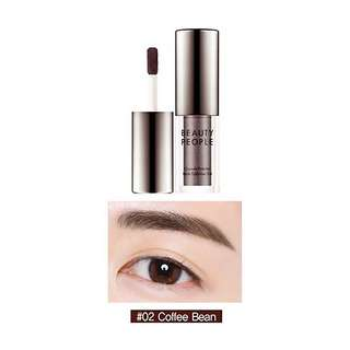 Beauty people eyebrow tint