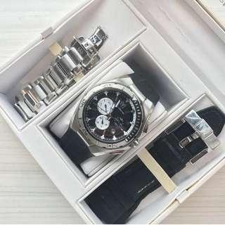 Pre-owned Technomarine Men's Watch Set