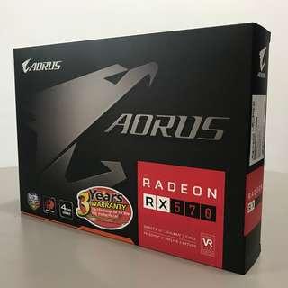 [NEW] AORUS Radeon RX570 4GB Gigabyte  [BNIB]