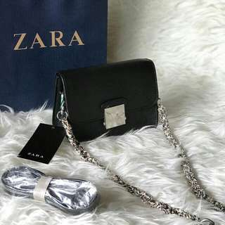 ZARA CROSSBODY BLACK ORIGINAL!