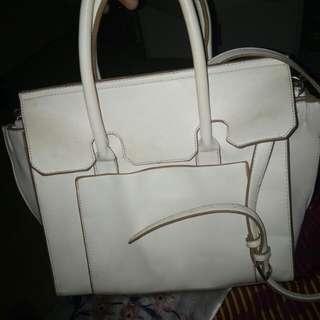 Parfois White Hand/Sling Bag
