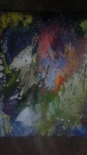 Jual lukisan abstrak jg mlyni pesanan