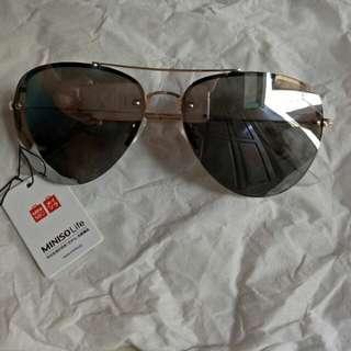 Kacamata MINISO Silver - New
