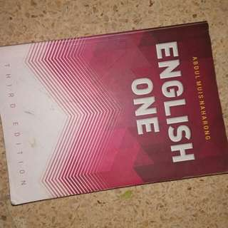 English One - abdul muis naharong