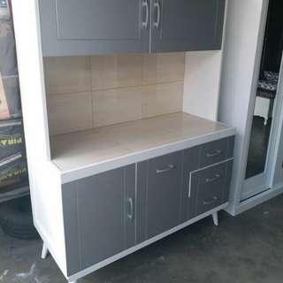 Retro style kitchen cabinet