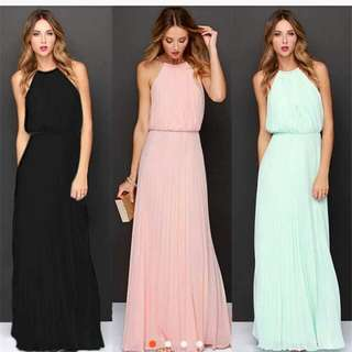 Women cocktail party evening maxi dress