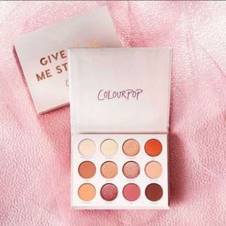 Ordered Give It To Me Straight Palette