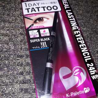 Authentic K Palette 1 day tattoo (super black)💕
