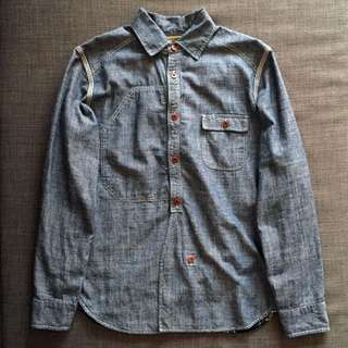 JUNYA WATANABE MAN Comme des Garcons Denim Check Shirt