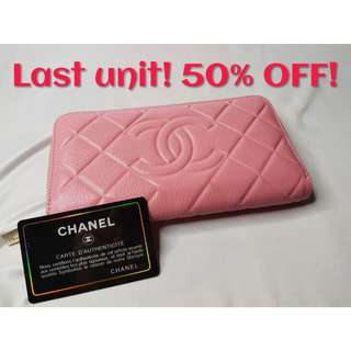 (Ready Stock! 50% OFF!) Chanel Wallet