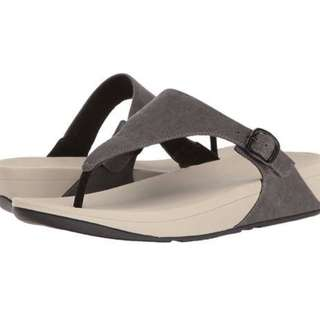 Brand New With Tag: FitFlop Women's The Skinny Canvas Toe Thong Flip Flop