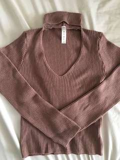 Choker mendocino sweater