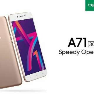 Oppo New Arrival Oppo A71 (3GB ) bisa kredit cepat mudah hanya 3 mnt