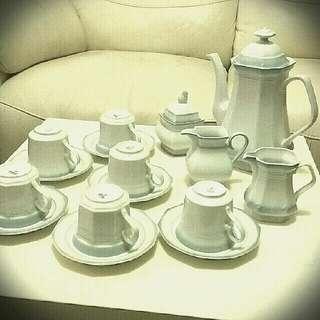 德國巴伐利亞州著名品牌Mitterteich Bavaria Germany 陶瓷茶具套裝 Porcelain Tea Cup Set