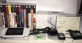Sony PSP-3006 Slim Edition (Pearl White)