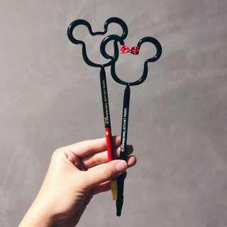 Disneyland Paris Mickey/Minnie Character Pen