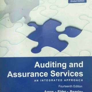 Auditing and Assurance Service (Arens, Elder Beasly)