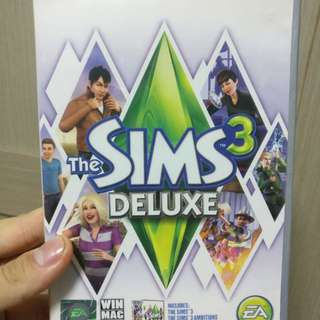 The Sims 3 Deluxe (main + ambition expansion)
