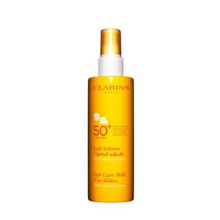👶Clarins for children sun care milk spray 50+ UVA 兒童防曬噴霧 150ml 夏日之選☀