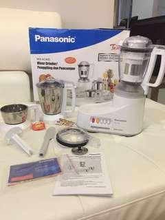 Panasonic MX-AC400 Mixer Grinder (3-Jar)