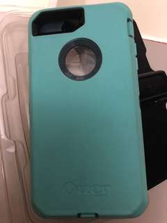 Slightly used otter box defender case for iPhone 7 and 8 plus