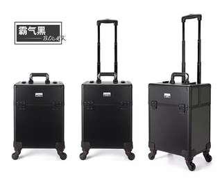 [BN] Niceland Professional Makeup Cosmetics Luggage Bag, Black