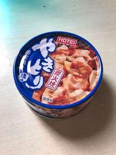 Hotei: 雞肉串燒罐頭(鹽味)