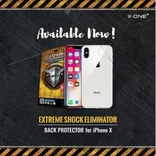 [機背防爆膜] X-ONE iPhone 專用第3代防爆後貼 (iPhone,防爆貼,背貼,保護貼,撞擊,碎裂)