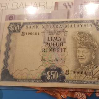 Malaysia-3rd series RM50 Offer