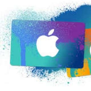 USD100 USA iTunes gift card credits code - US$100 $100 US